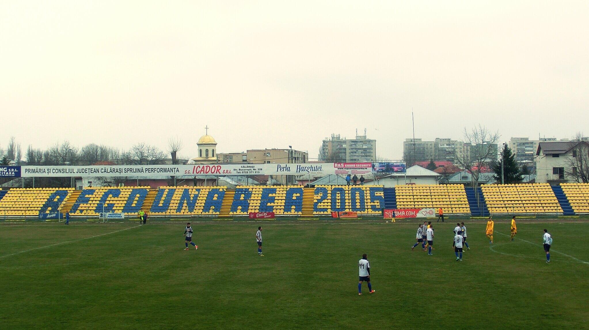 Stadionul municipal AFC Dunarea Calarasi